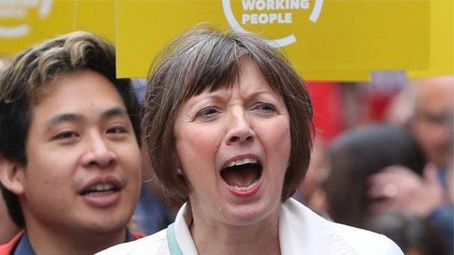 Frances O'Grady 2013'ten beri TUC'nin başında