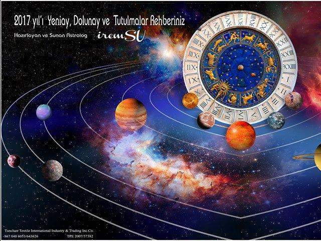 2017 yılı Yeniay, Dolunay, Güneş ve Ay Tutulmaları