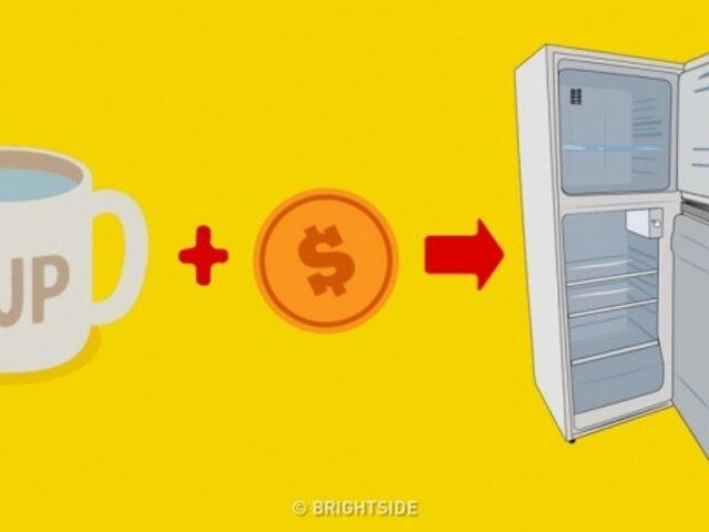 Neden Evden Çıkmadan Buzdolabında Demir Para Bırakmalısınız?