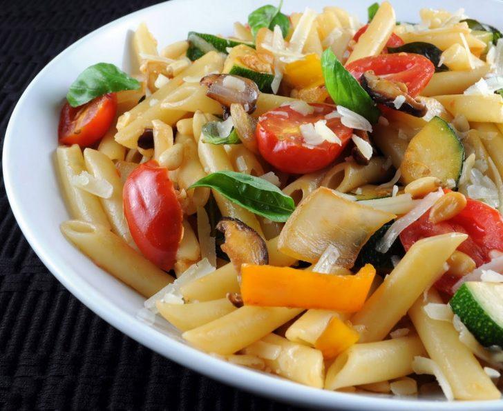 Паста овощная рецепт с фото