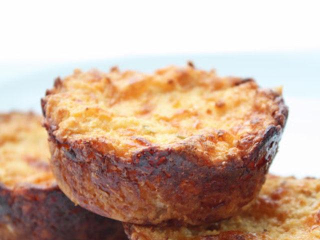 Çedar Peynirli Karnabaharlı Muffin