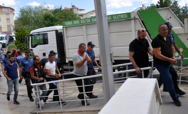 Karaman'da uyuşturucu operasyonu; 3 kişi adliyede