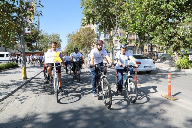 Kervansaray Buluşmaları kapsamında bisiklet turu düzenlendi