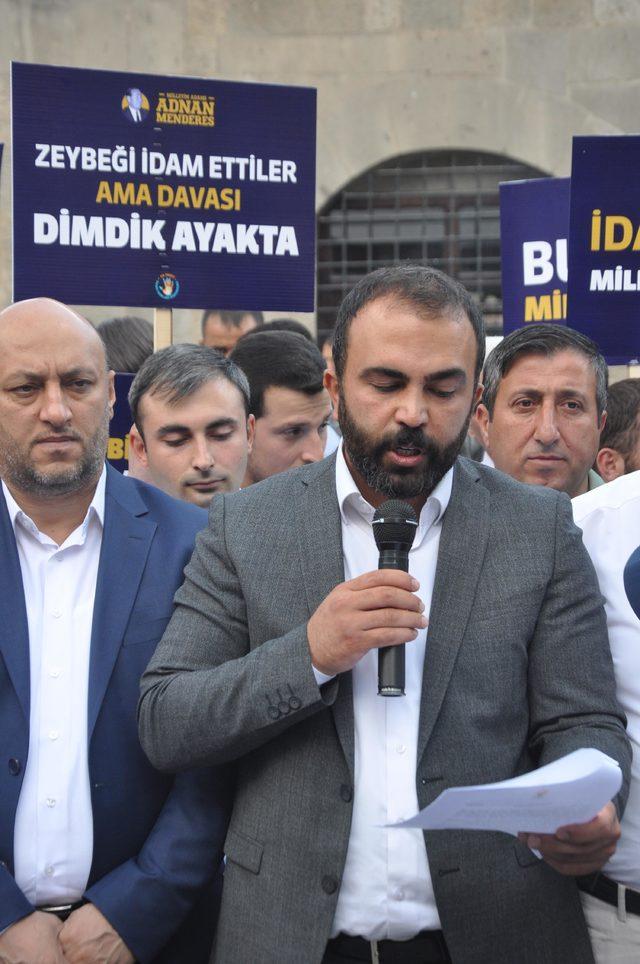 Adnan Menderes, Bitlis'te basın açıklaması ile anıldı