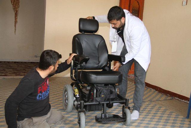 Artuklu Belediyesinden engelli dostu projeler