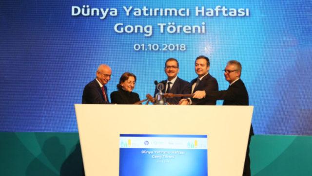 Dünya Yatırımcı Haftası Türkiye'de Gong Töreniyle Başladı!