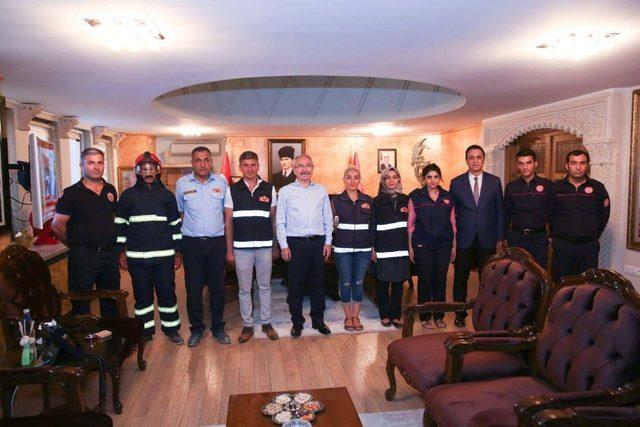 Mardin'de İtfaiye haftası Çeşitli etkinliklerle kutlandı