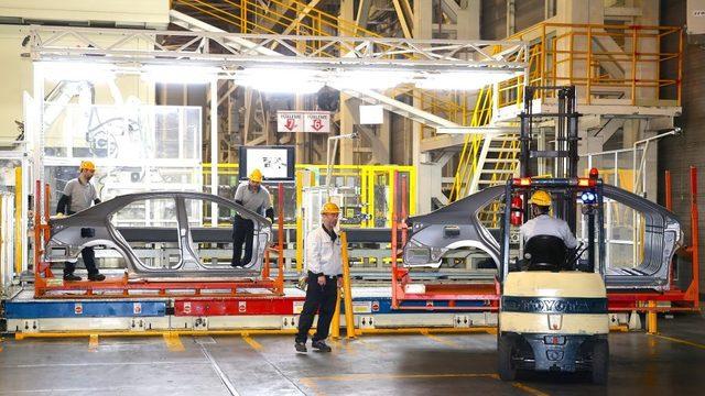 Toyota'nın Sakarya'daki fabrikası