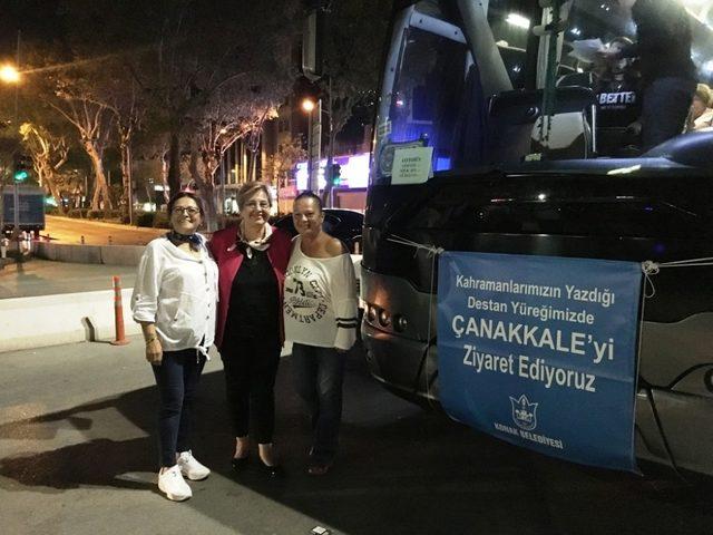 Konak'tan Çanakkale Şehitliklerine duygusal gezi