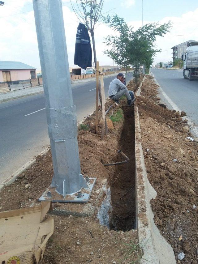 Çaldıran'da 'Prestij Cadde' çalışması