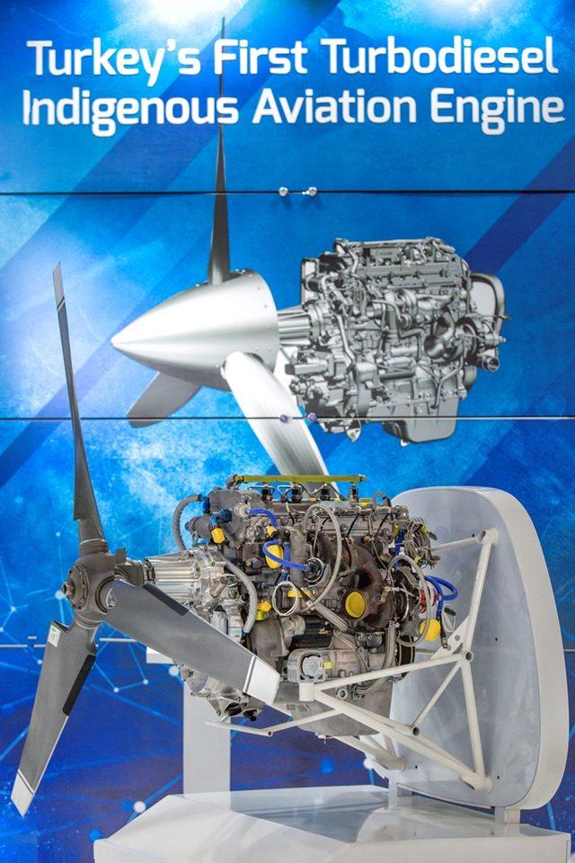 Yerli İHA motoru PD170 Akıncı'da uçacak