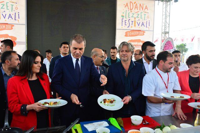 2. Adana Lezzet Festivali, mangal ateşinin yakılmasıyla başladı