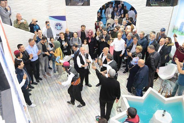 Battalgazi Belediyesi standı yoğun ilgi gördü