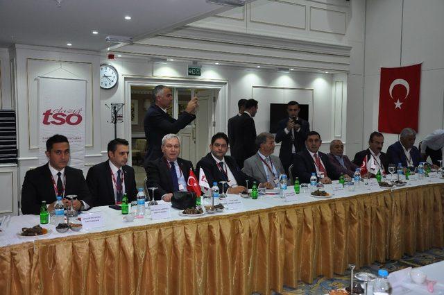 Doğu Anadolu ve Güneydoğu Anadolu Bölgesi; Ticaret Odaları ve Ticaret Borsaları Yönetim Kurulu Başkanları istişare toplantısı yaptı