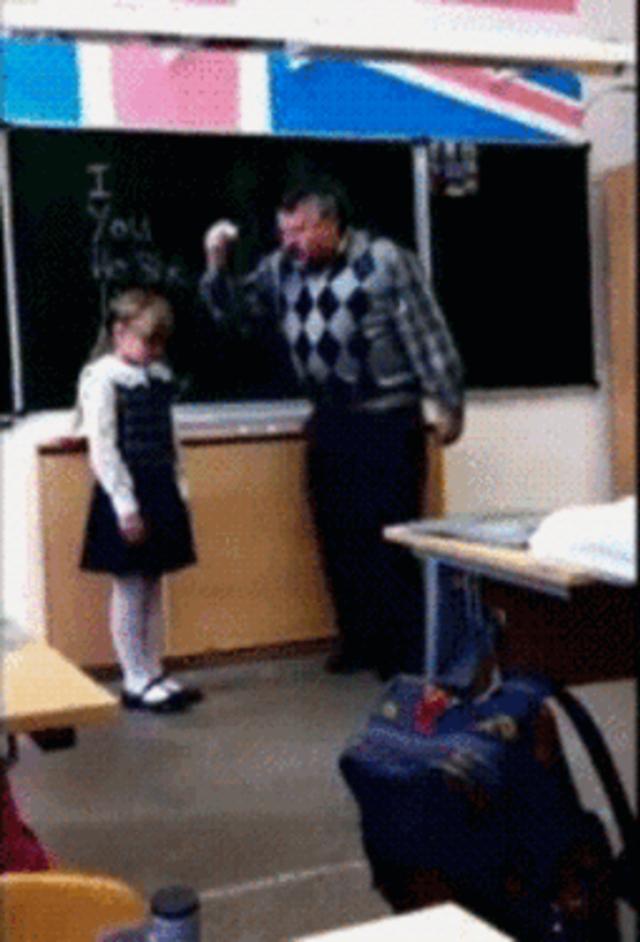 Гифки смешные про школу, смешариков