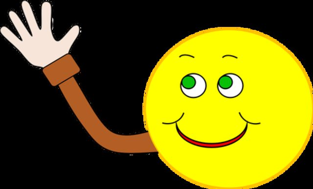 happy-face-waving