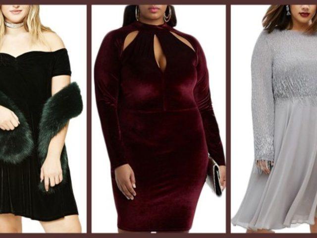 Yeni Yıla Şık Bir Giriş İçin Büyük Bedene Uygun 15 Elbise