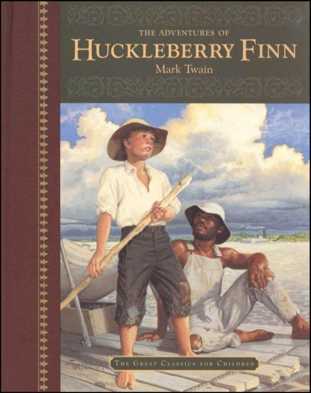 the adventures of huckleberry finn - 600×762