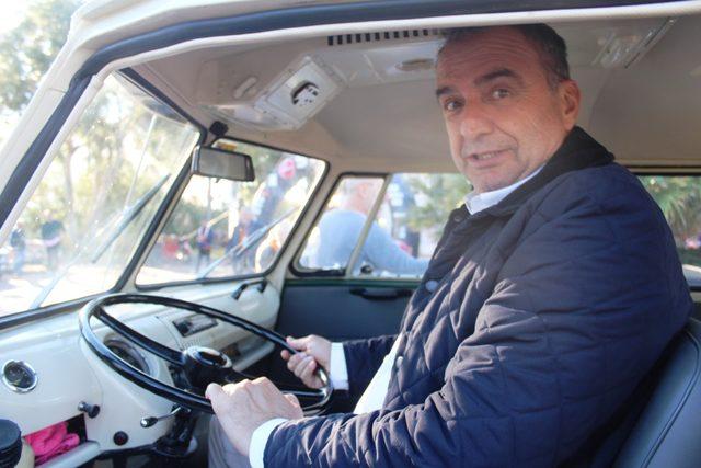 Ayvalık'ta klasik otomobillerin Cumhuriyet Rallisi başladı