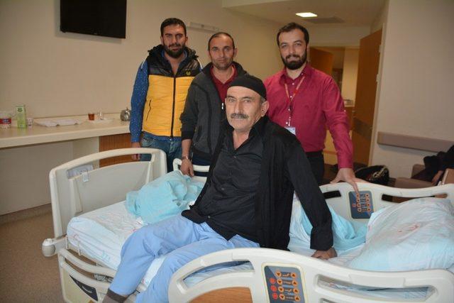 Tatvan'da omurilik tümörü ameliyatı yapıldı