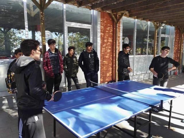 Tügva doğa kampına lise öğrencilerinin ilgisi