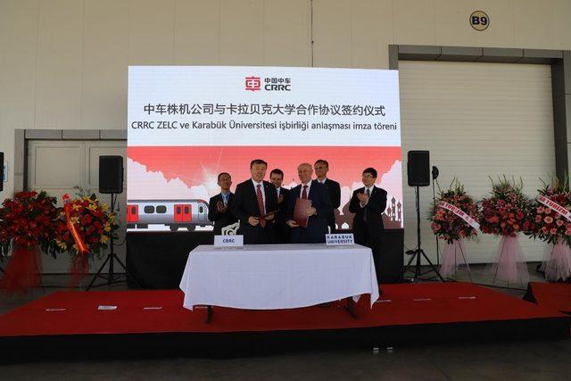 KBÜ ile Çin devi CRRC arasında iş birliği