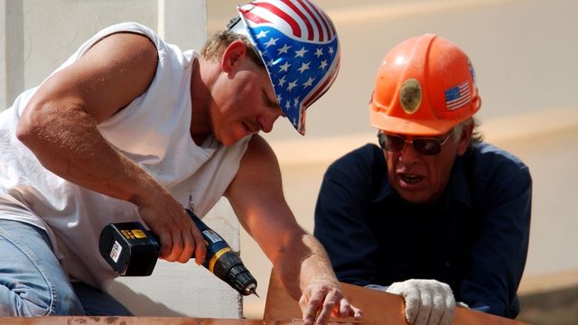 İnşaat, istihdamın arttığı sektörlerden biri