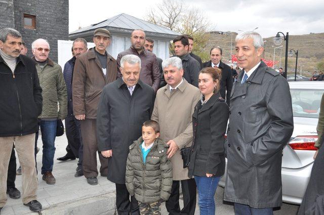 Vali Lala Mustafa Paşa Çeşmesi'nin açılışı yapıldı