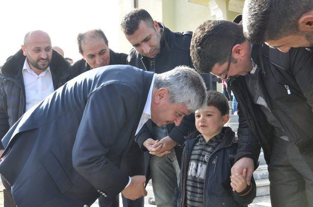 Vali Rahmi Doğan Kars'a veda etti