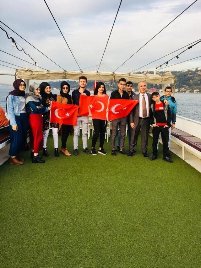 Nusaybinli şehit ve gazi yakını öğrenciler için İstanbul gezisi