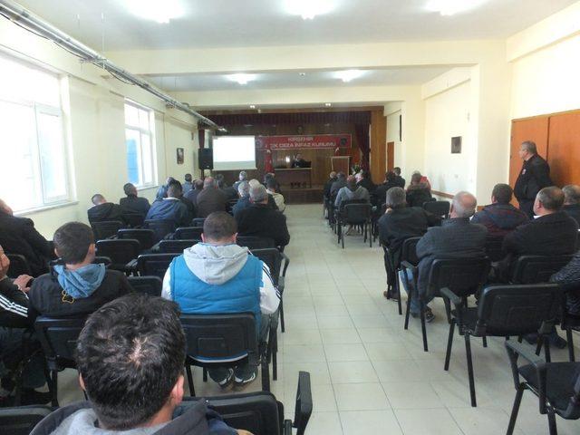 Açık ceza infaz kurumu personeline organ bağışı eğitimi verildi