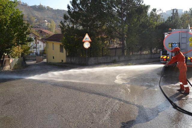 Karabük Belediyesi'nden çevre temizliği