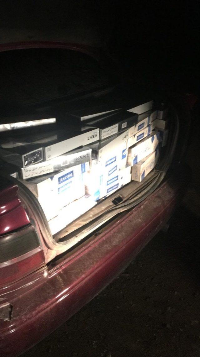 Van'da 12 bin 450 paket kaçak sigara ele geçirildi