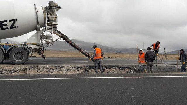 Kars-Digor-Tuzluca bölünmüş yolu tamamlanıyor