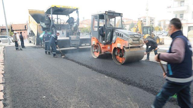 Battalgazi'de asfalt çalışmaları