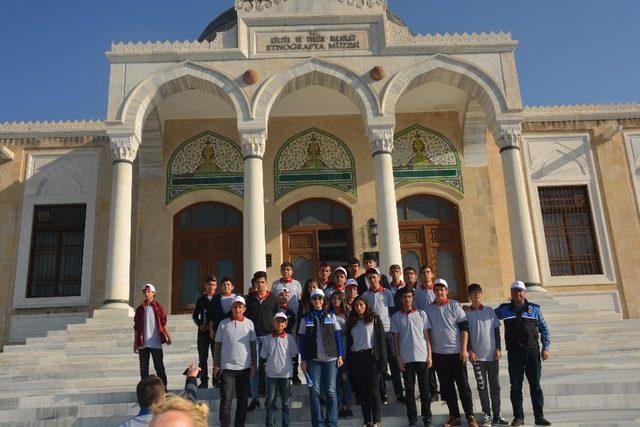 Toplum Destekli Polislerden 'Eğitimli Gençlerle Aydın Gelecek' projesi