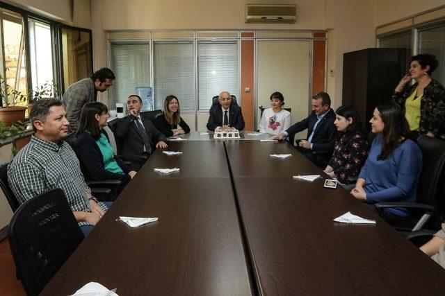 Başkan Yaşar, Dünya Şehircilik Günü'nü kutladı