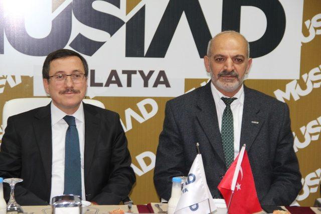 MÜSİAD Dost meclisi'nin konuğu Rektör Kızılay  oldu