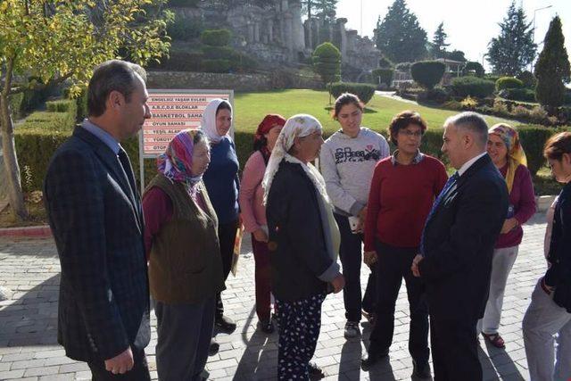 Kaymakam Duru'dan özel öğrencilere anlamlı ziyaret