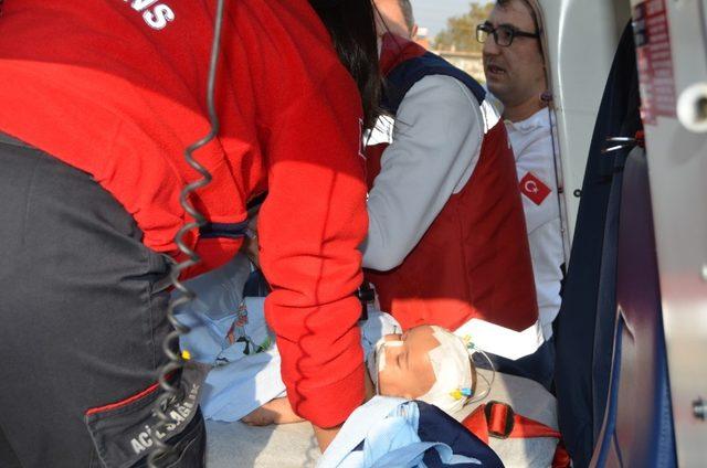 Ambulans helikopter, Rüzgar bebek için havalandı