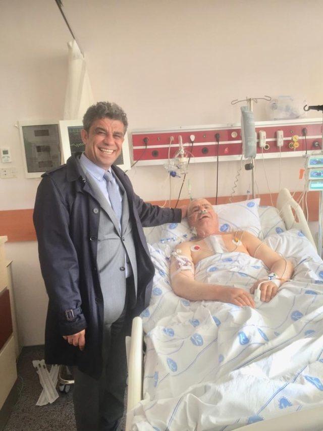 KAÜ Araştırma Hastanesi'nde açık kalp ameliyatı yapıldı