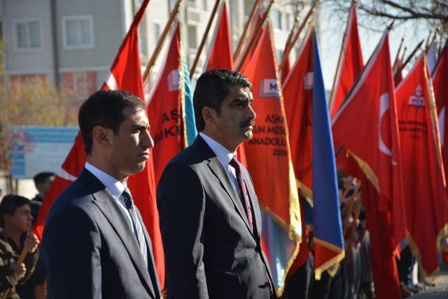 Atatürk, Aşkale'de saygı ve minnetle anıldı