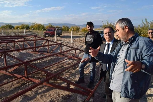 Başkan Kazgan, yatırımları inceledi
