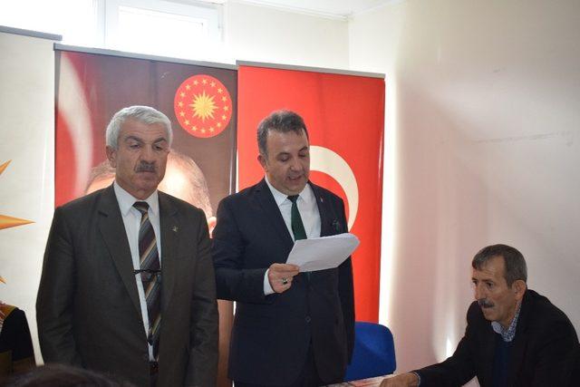 İskenderoğlu, AK Parti'de Akçadağ'da aday adayı oldu