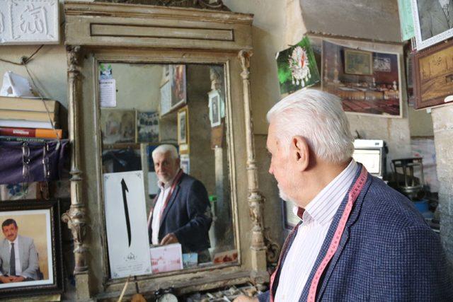 Şanlıurfa'da 'Son Osmanlı' terzisi - Son Dakika Haberler